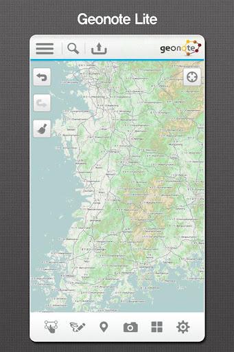 Geo Note Lite - offline map