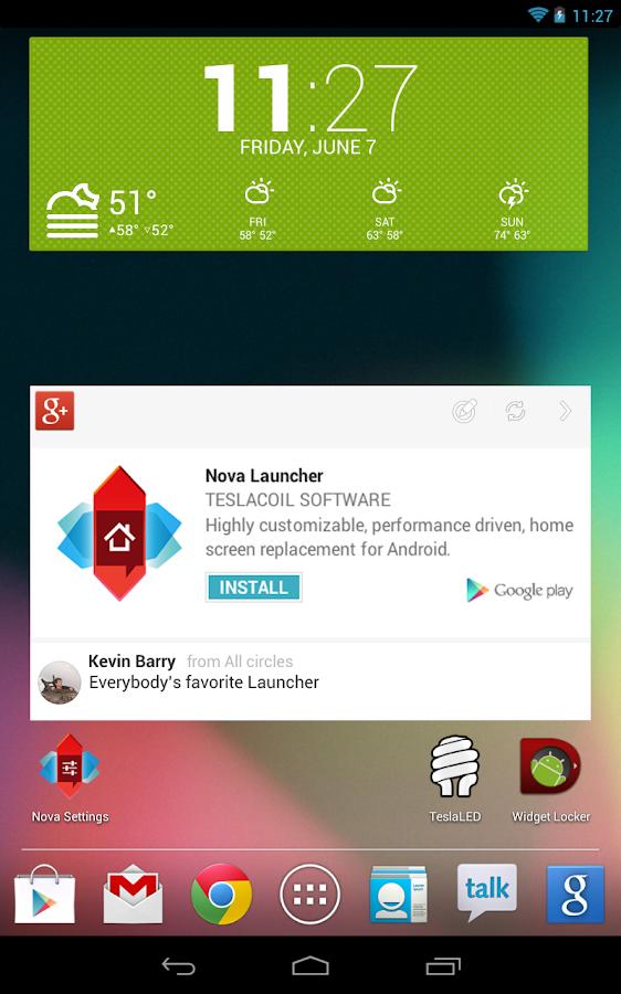 Nova Launcher - screenshot