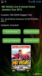 Reggae Events in Italy- screenshot thumbnail