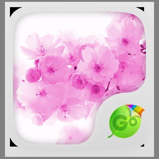 Pink Cherry GO Keyboard Theme LOGO-APP點子