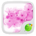Pink Cherry GO Keyboard Theme icon