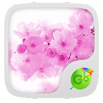 Pink Cherry GO Keyboard Theme 3.87 Apk