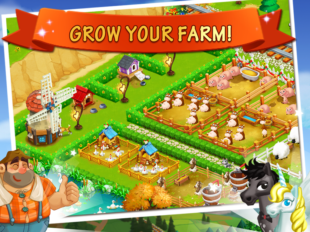 Happy Farm:Candy Day- screenshot