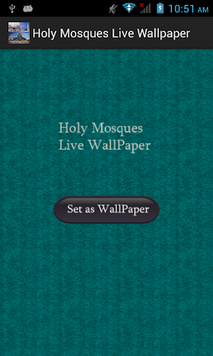 Holy Mosques Live Wallpaper
