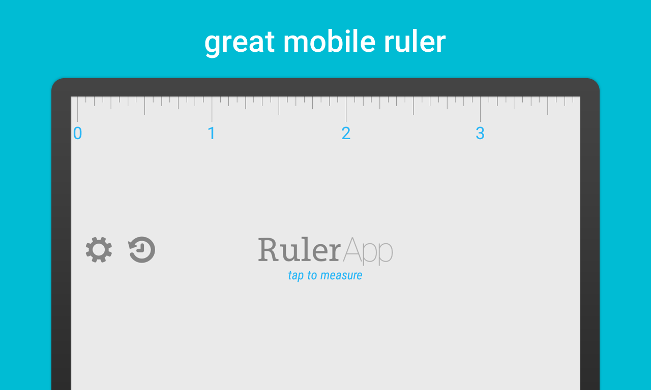 Ruler App- screenshot