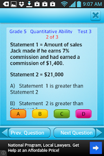 Free Grade 5 Math English 5th - screenshot thumbnail
