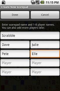 Super Scorepad- screenshot thumbnail