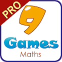 9 Games Maths PRO icon