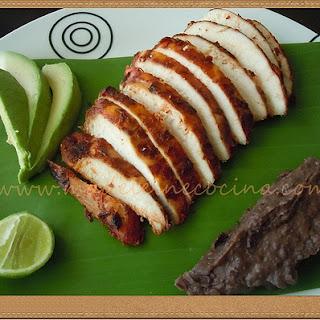 Barbacoa-style Chicken.