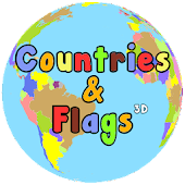 Countries And Flags 3D
