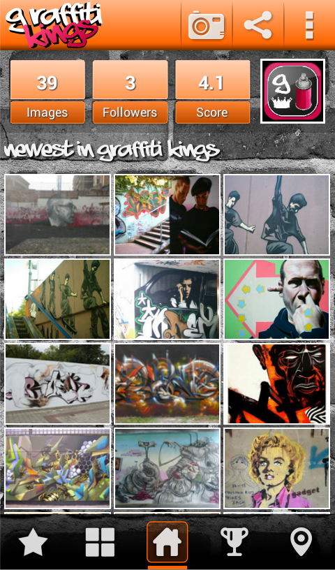 Graffiti Kings social app - screenshot