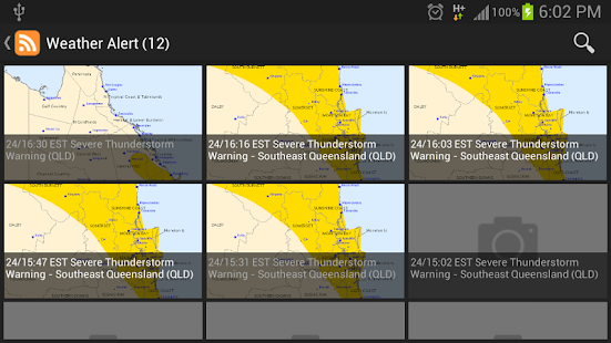 Brisbane & Queensland Alert- screenshot thumbnail