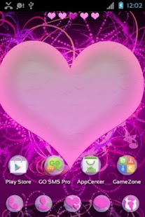 Hearts Themes for GO Launcher- screenshot thumbnail