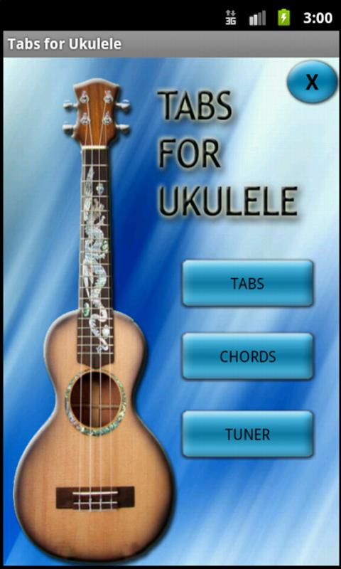 Tabs for Ukulele- screenshot