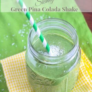 Skinny Green Pina Colada Shake {Vegan, High Protein, Gluten Free, Dairy Free}