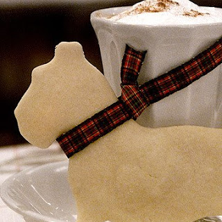 Scottie Dog Shortbread Cookies.