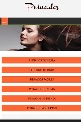 Peinados y Recogidos Fáciles - screenshot