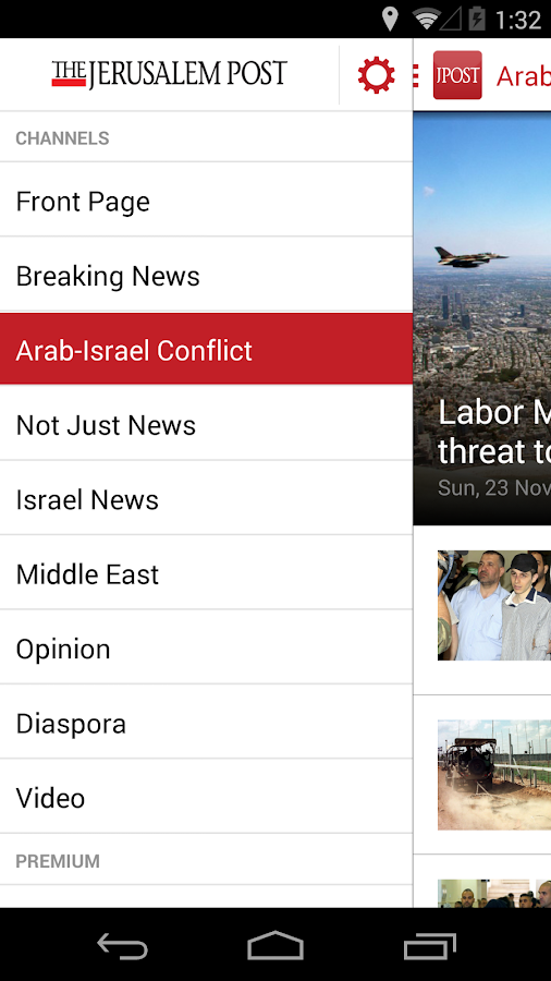 Jerusalem Post - screenshot