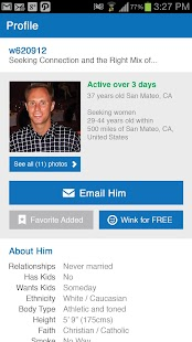 Match.com Singles Dating App - screenshot thumbnail