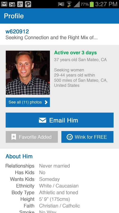 match.com iphone app arrangement