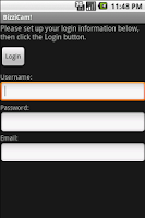 Screenshot of BizziCam!