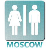 Public toilets in Moscow