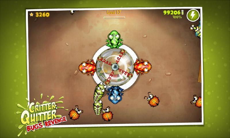 Critter Quitter: Bugs Revenge- screenshot
