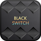 BlackSwitch go launcher theme