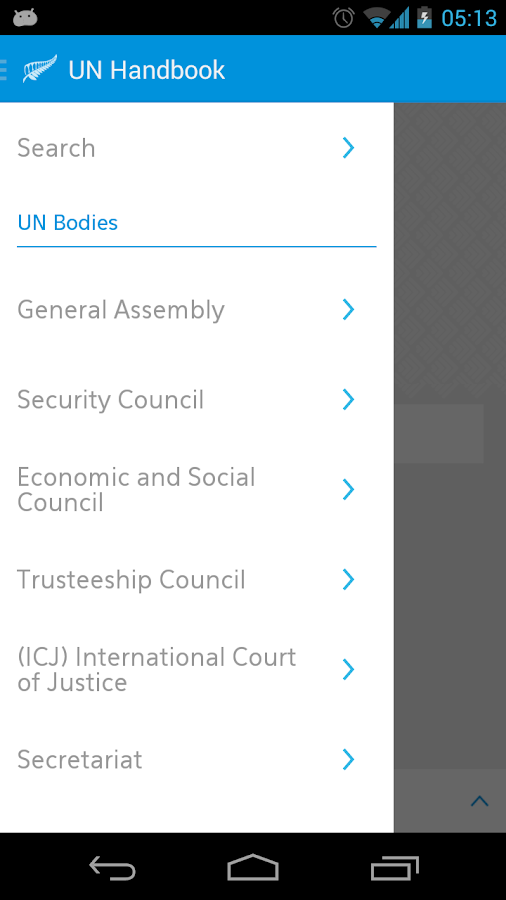 UN Handbook- screenshot