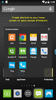 Screenshot of App Launcher+ (App Drawer)
