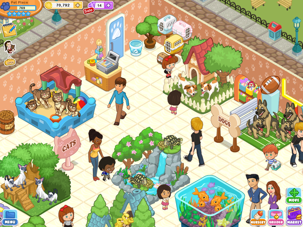 Pet shop story renaissance android apps on google play Create your house game