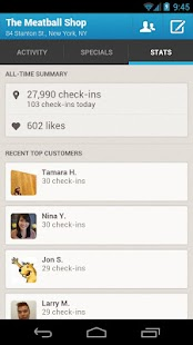 Foursquare for Business - screenshot thumbnail