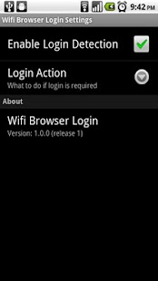 Wifi Browser Login - screenshot thumbnail