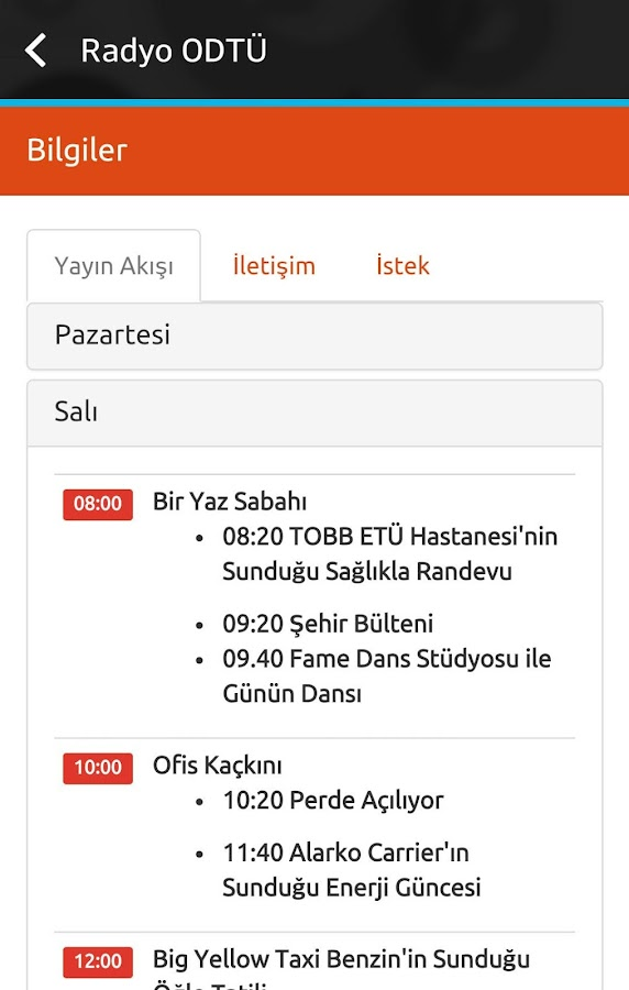 Radyo ODTÜ- screenshot
