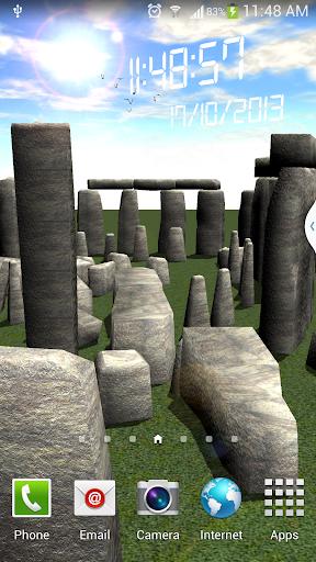 Stonehenge livewallpaper free