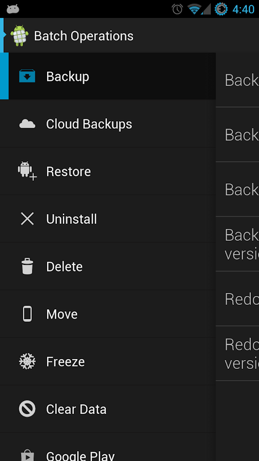 Ultimate Backup Pro- screenshot