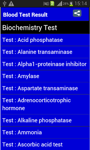 【免費醫療App】Blood Test Result-APP點子