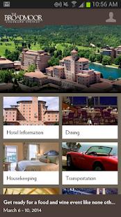 The Broadmoor Hotel screenshot