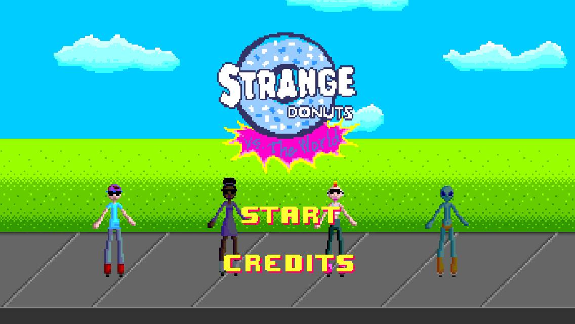 Strange Donuts vs. The World- screenshot