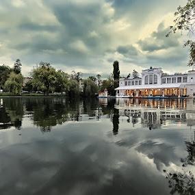 central park lake - Cluj-Napoca by Cristi Vescan - City,  Street & Park  City Parks ( romania park, lake, central park, cluj )