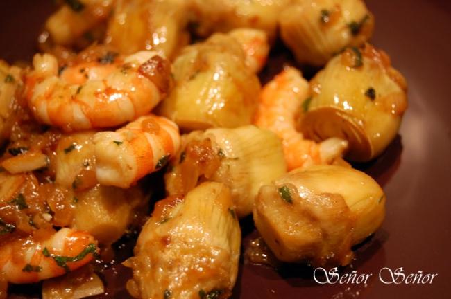 Artichoke Hearts with Shrimp: a Healthy and Easy Dish Recipe