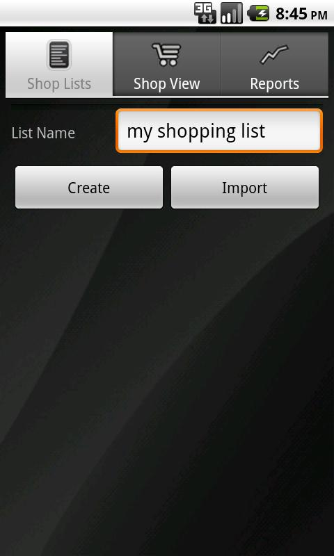 Shopping Assistant - screenshot