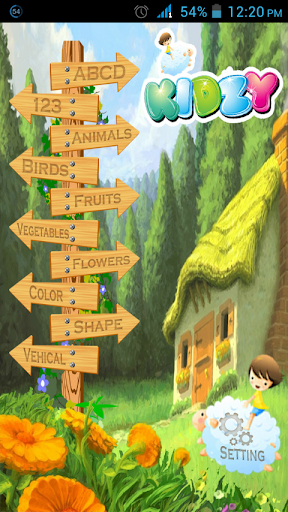 Kidzy - Interactive Learning