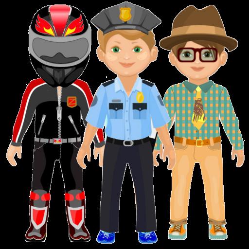 孩子們裝扮 (免費男孩裝扮造型 ) 教育 App LOGO-APP試玩