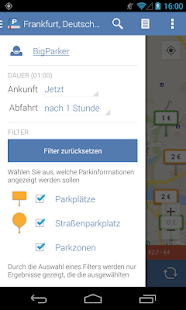 Parkopedia Parken – Miniaturansicht des Screenshots