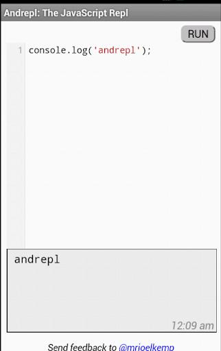 Andrepl: The JavaScript REPL