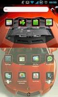Screenshot of Lambo Aventador Go EX Theme