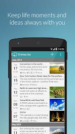 Diaro - diary, journal, notes Screenshot 1