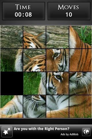 Simple Slide Puzzle- screenshot