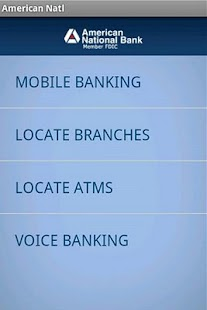 American National Bank Mobile - screenshot thumbnail